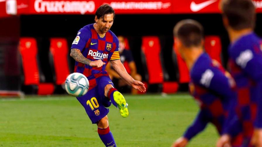 «Барселона» на выезде разгромила «Вильярреал»