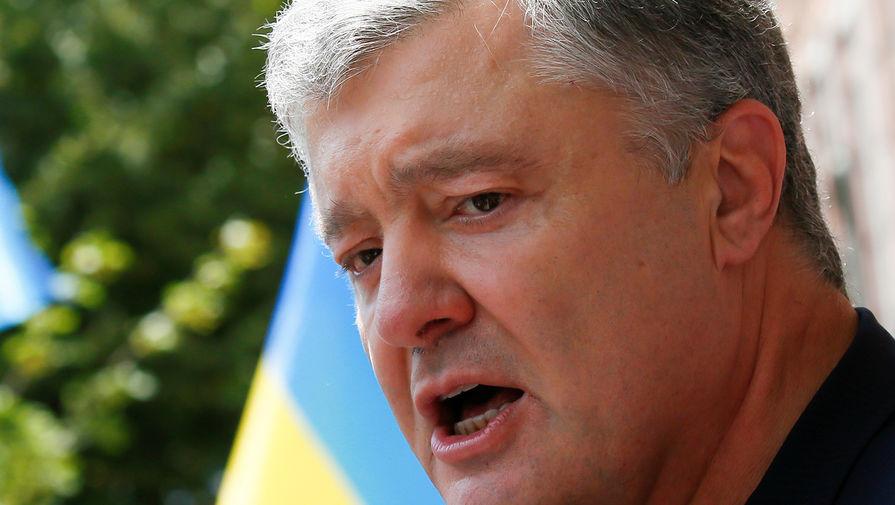 В Крыму обвинили Порошенко в причастности к водной блокаде полуострова
