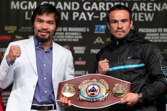 Мэнни Пакьяо и Хуан Мануэль Маркес разыграют титул «боксера десятилетия»
