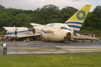 Зачастую молния становится причиной авиакатастрофы