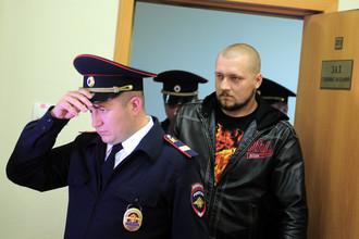 Охранник Роман Цепляев в Симоновском районном суде