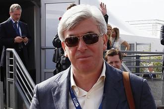 Председатель совета директоров ОАО «Компания Усть-Луга» Валерий Израйлит, 2013
