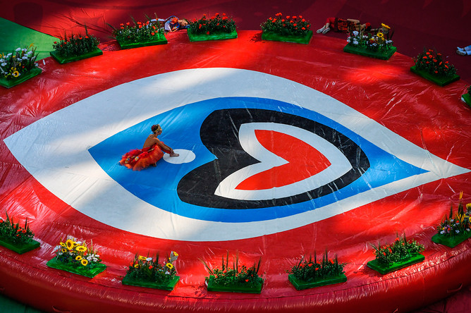 Церемония открытия Кубка конфедераций – 2017 в Санкт-Петербурге