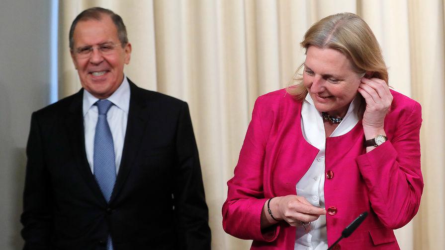 Лавров видит Австрию в роли посредника в урегулировании конфликта в Сирии