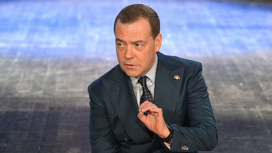 Медведев назвал условия для сохранения транзита газа через Украину