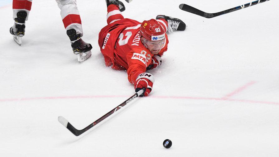 Хоккеиста Кузнецова дисквалифицировали на четыре года за кокаин