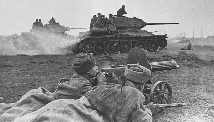 Освобождение советскими войсками Венгрии. Бои на подступах к Будапешту.