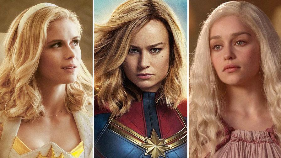 Женщины победили: названы самые популярные актеры года
