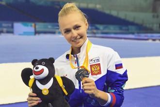 Российские спортсмены завоевали золото в командном первенстве по спортивной гимнастике