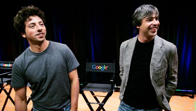 По сто миллиардов на каждого: основатели Google вошли в «клуб центимиллиардеров»