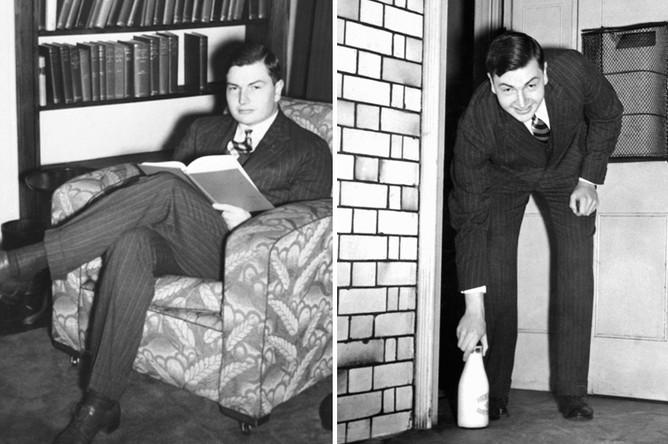 Дэвид Рокфеллер, 1937 год