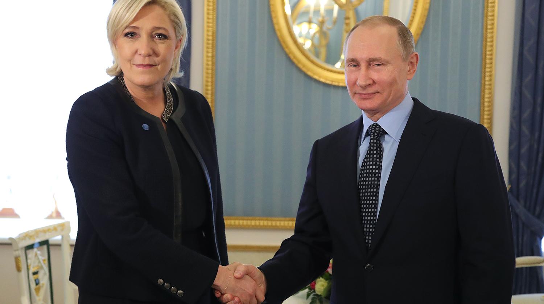 Le Monde: Марин Ле Пен объяснила эстонцам свои связи с Россией