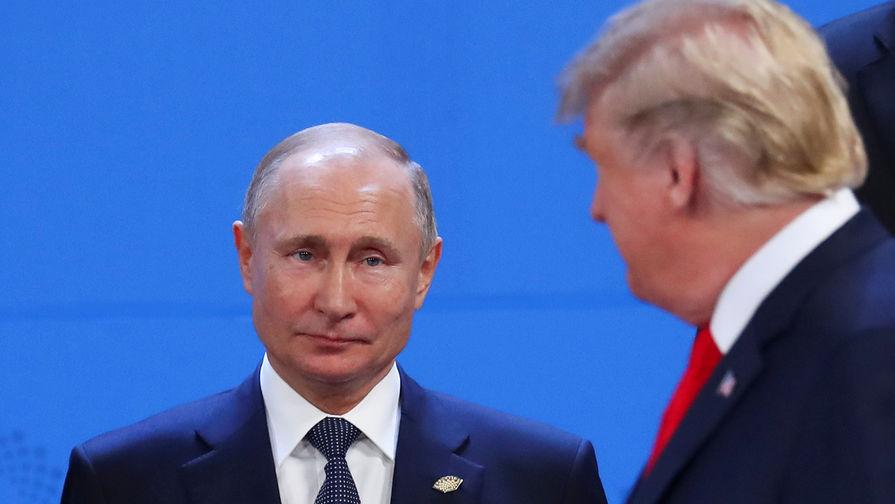 Путин и Трамп не поздоровались на G20