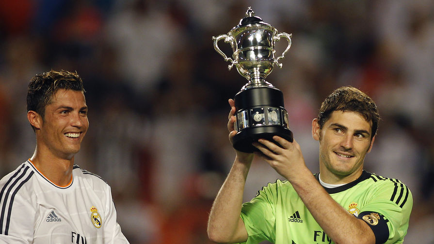 Роналду назвали одним из лучших игроков в истории «Реала»