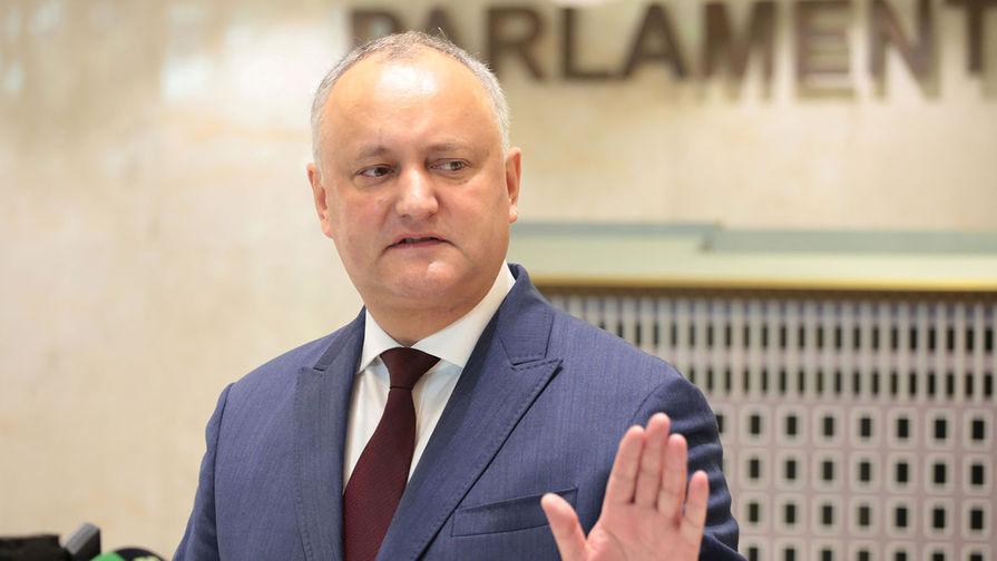 Додон отреагировал на решение КС Молдавии о российском кредите
