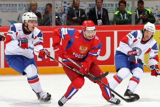 В матче группового этапа норвежцы доставили сборной России проблемы