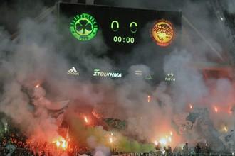 Беспорядки на матче «Панатинаикоса» и «Олимпиакоса»