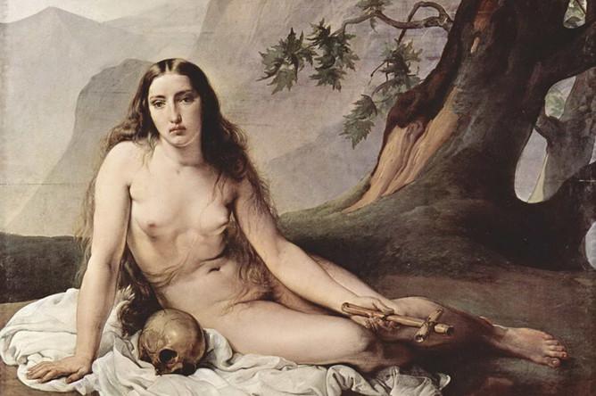 Франческо Хайес. «Кающаяся Мария Магдалина». 1825