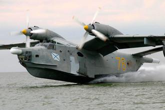 Противолодочный самолетБе-12