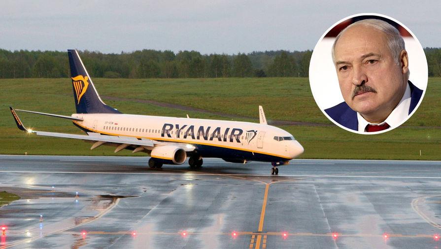 Лукашенко заявил, что сообщение о минировании самолета Ryanair пришло из Швейцарии