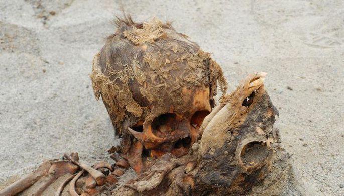 В центре Москвы обнаружили скелет человека