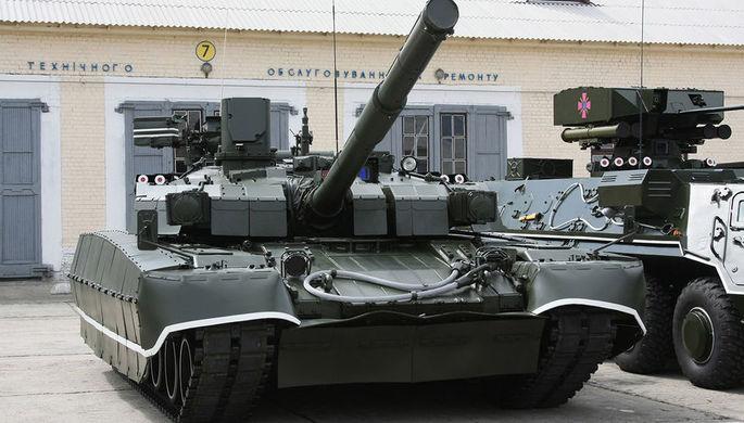 Танк Т-84У «Оплот» Вооруженных сил Украины, 2009 год