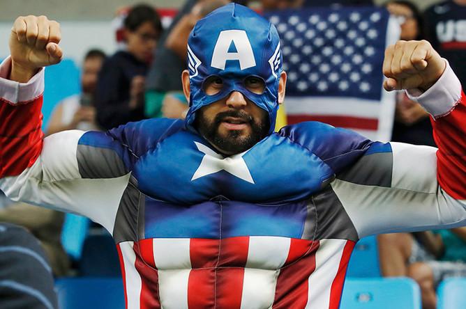 Болельщик сборной США