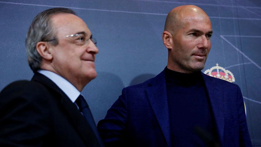 Зидан обвинил руководство Реала в отсутствии поддержки