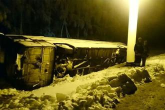 40 детей спасены: в Тульской области перевернулся автобус со школьниками