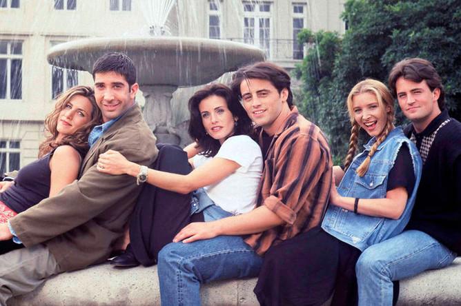 Кадр из сериала «Друзья» (1994-2004)