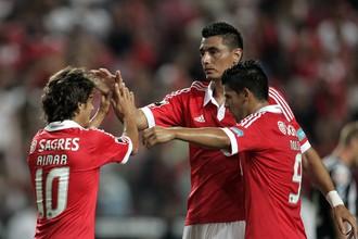 «Бенфика» лидирует в чемпионате Португалии