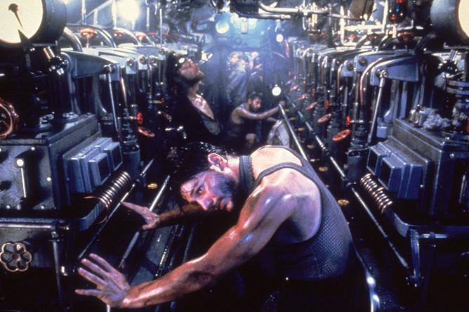 Кадр из фильма Вольфганга Петерсена «Подводная лодка»
