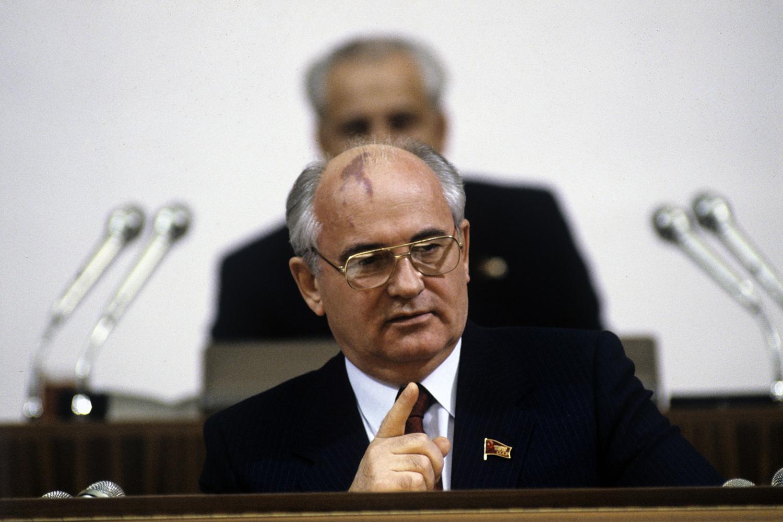 Николай Горбачёв — лидер СССР