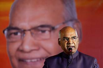 Избранный президент Республики Индия Рам Натх Ковинд