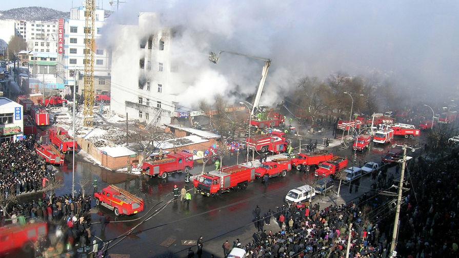 Пожар в торговом комплексе «Чжунбай» в китайском Цзилине, 2004 год