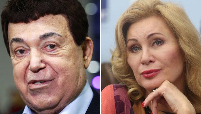 Иосиф Кобзон и Вика Цыганова, коллаж «Газеты.Ru»