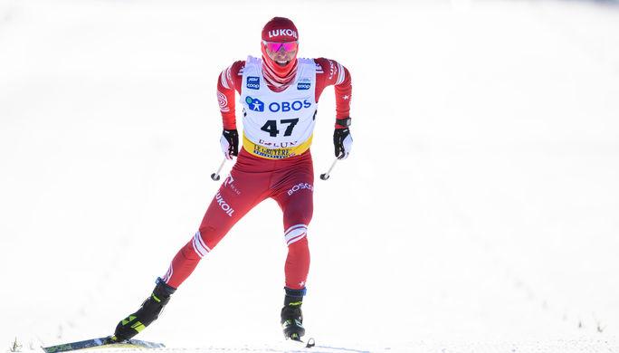 Российский лыжник Денис Спицов