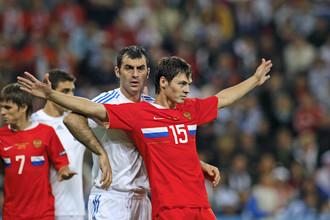 Последний поединок между Россией и Грецией состоялся на Евро-2008