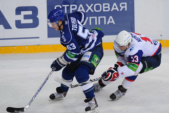 СКА обыграл московское «Динамо»