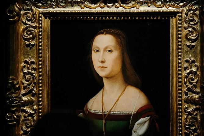 Рафаэль Санти. Немая. 1507 (Национальная галерея Марке, Урбино)