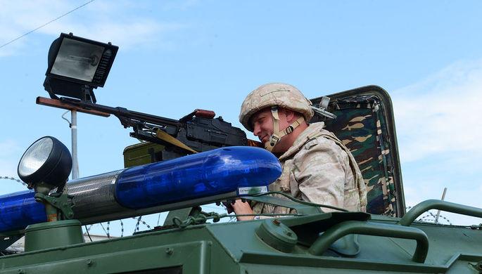 Военная полиция на базе Хмеймим всегда начеку.