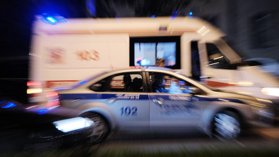 В Петербурге водитель ранил пассажира из ракетницы