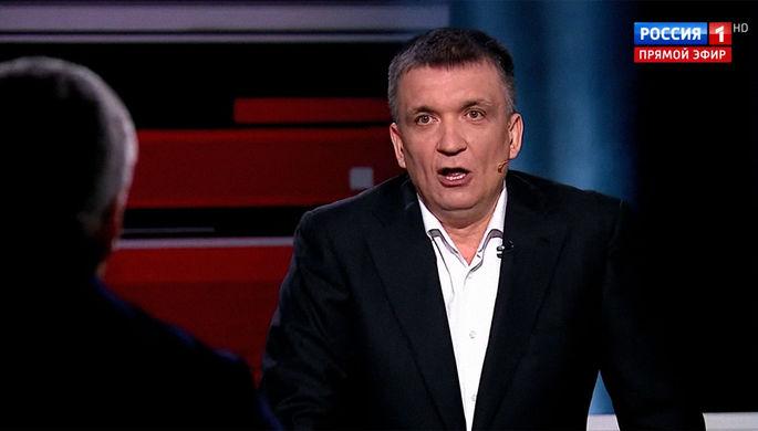 «Отдайте на расстрел НКВД»: Соловьев выгнал гостя из студии