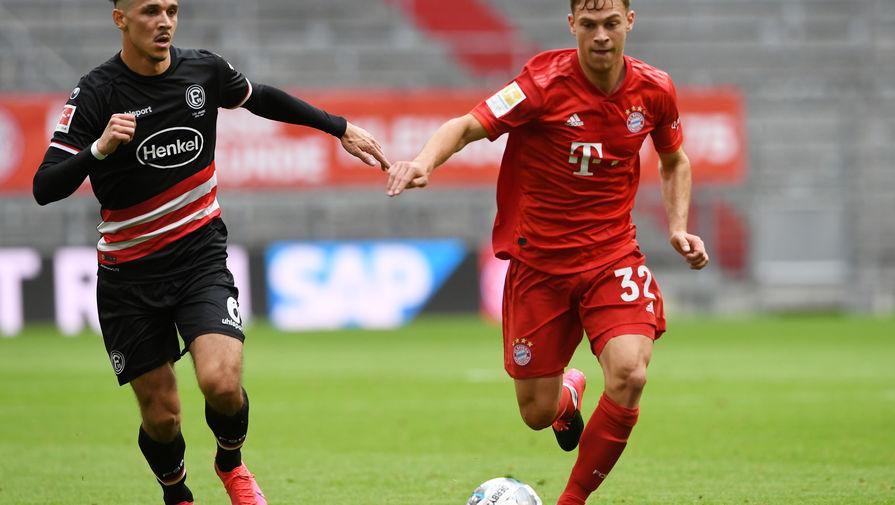 Эпизод матча «Бавария»- «Фортуна»