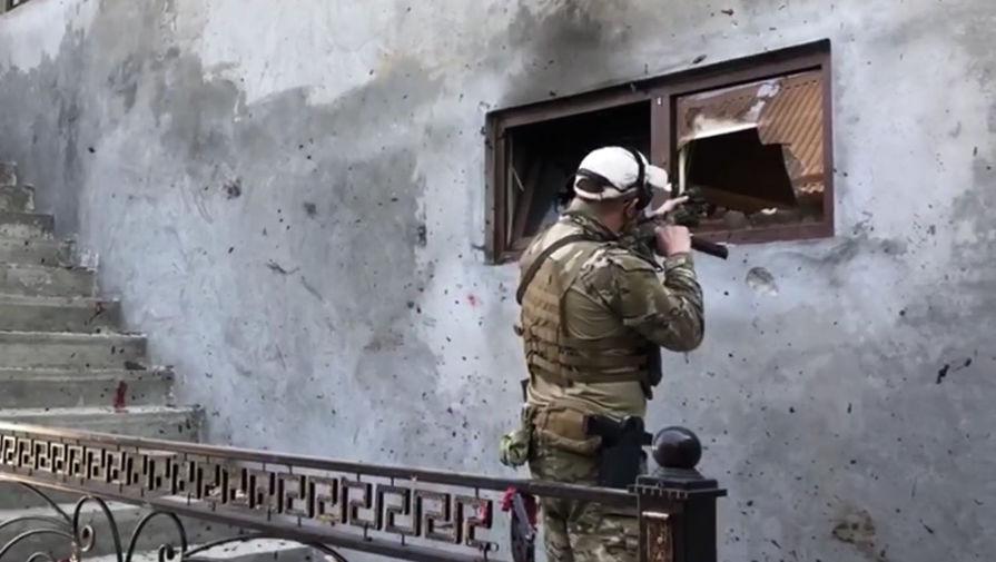 Трое силовиков убиты во время КТО в Грозном