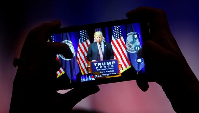 Мало просмотров: Трамп удалил свой сайт, который должен был заменить ему Twitter