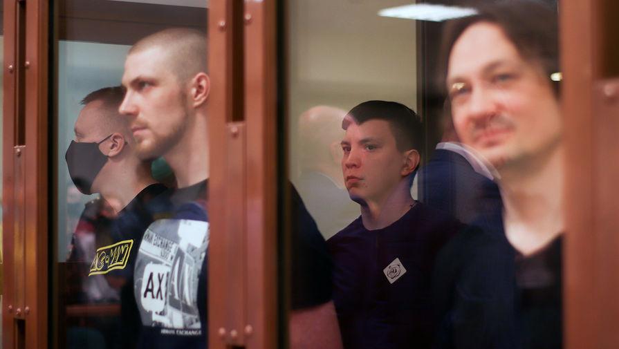 Оглашение Мосгорсудом приговора экс-полицейским по делу о подброшенных наркотиках журналисту Ивану Голунову, 28 мая 2021 года