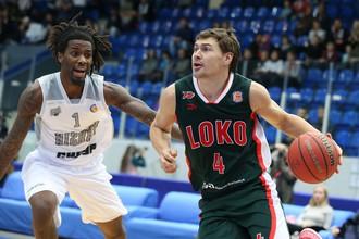 Баскетбольный «Локомотив-Кубань» разгромил «Нижний Новгород» на выезде