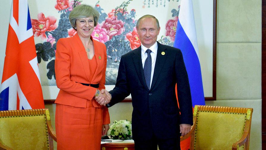 Мэй подтвердила встречу с Путиным на G20