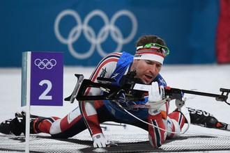 Норвежский биатлонист Эмиль Хегле Свендсен